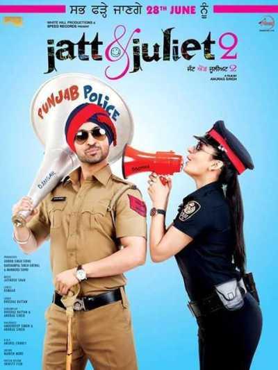 Jatt & Juliet 2 movie poster