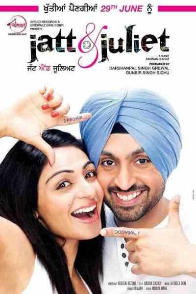 Jatt & Juliet movie poster