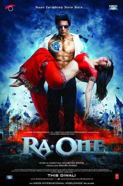 रा वन movie poster