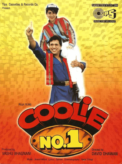 Coolie No. 1 movie poster
