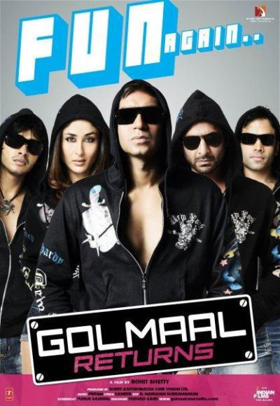 Golmaal Returns movie poster