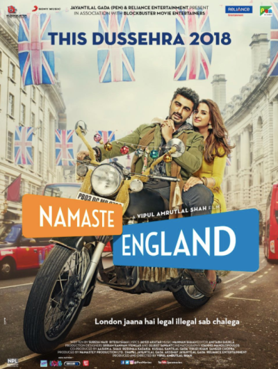 Namaste England movie poster