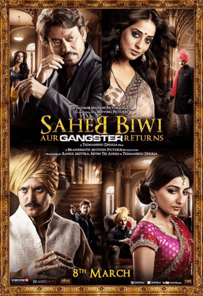 Saheb Biwi Aur Gangster Returns movie poster