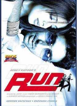 Run movie poster