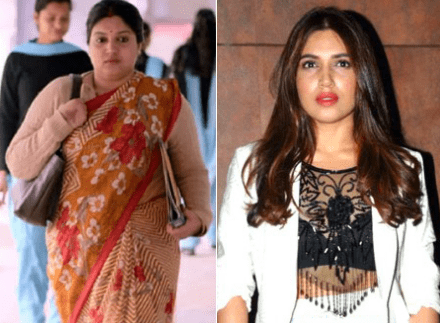 Bhumi Pednekar fat to fit