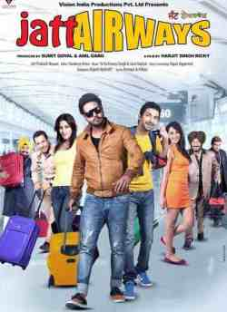 Jatt Airways movie poster