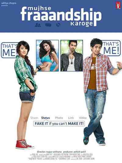 Mujhse Fraaandship Karoge movie poster