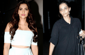 sonam kapoor before after makeup