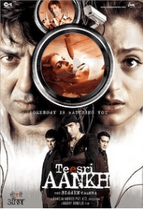 तीसरी आँख – द हिडन कैमरा movie poster