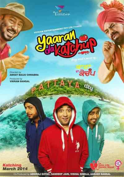 Yaaran Da Katchup movie poster