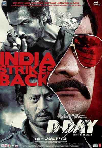 डी डे movie poster