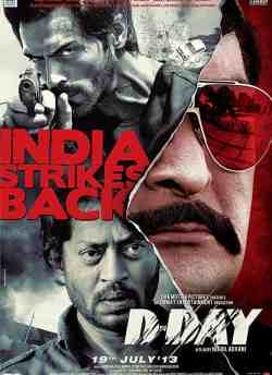D Day movie poster