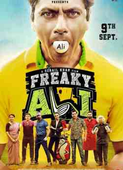 Freaky Ali movie poster