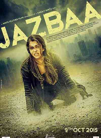 Jazbaa movie poster