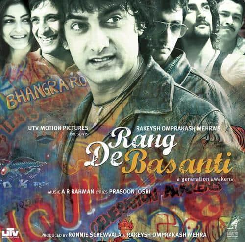 Rang De Basanti album artwork