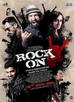 Rock On 2 movie poster