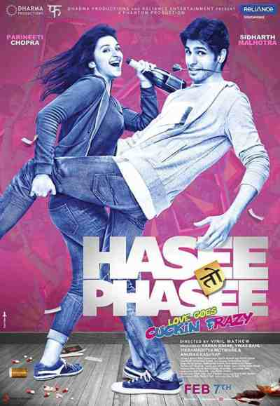 Hasee Toh Phasee movie poster