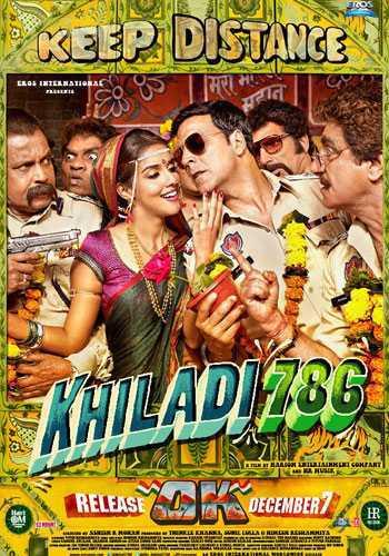 खिलाडी 786 movie poster