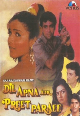 Dil Apna Aur Preet Paraee movie poster