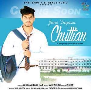June Diyan Chuttian album artwork