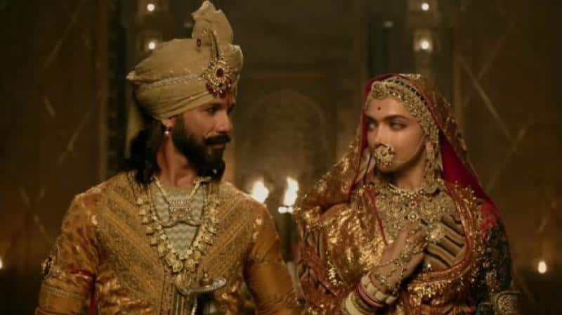 Deepika Padukone and Shahid Kapoor in Padmavat