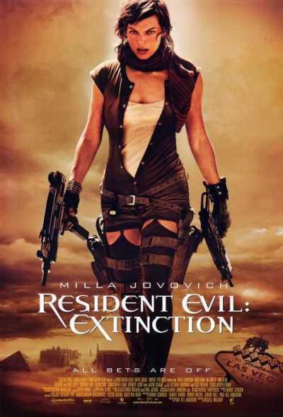Resident Evil : Extinction movie poster