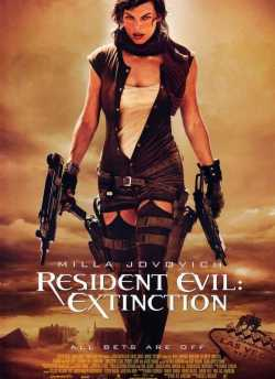 Resident Evil : Extinction movie poster