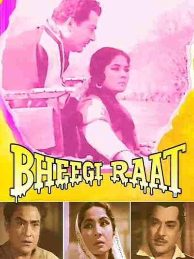 Bheegi Raat movie poster