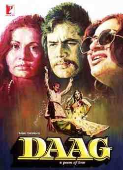 Daag movie poster