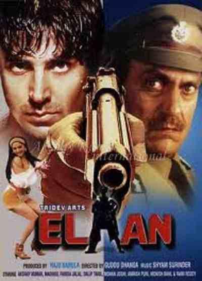 Elaan movie poster
