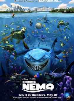 फाइंडिंग नेमो movie poster
