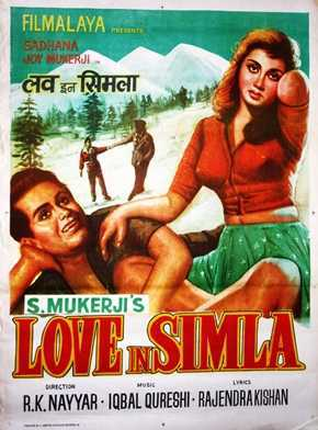 Love In Simla movie poster
