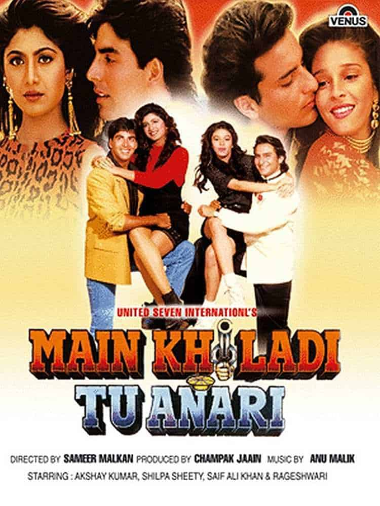 Main Khiladi Tu Anari - Lifetime Box Office Collection, Budget, Reviews,  Cast, etc