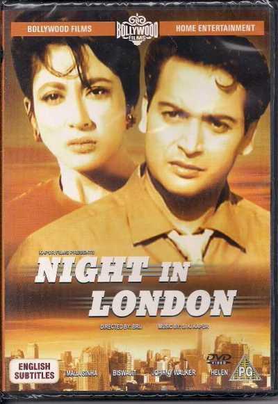 Night In London movie poster