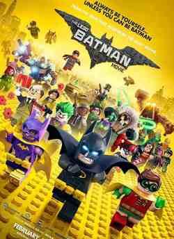द लीगो बैटमैन मूवी movie poster