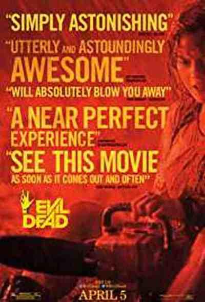 Evil Dead movie poster