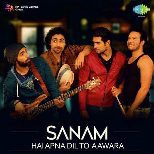 hai apna dil to awara sanam album artwork