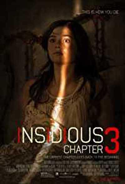 इंसिडियस चैप्टर 3 movie poster