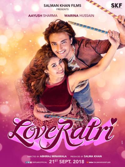 Loveyatri movie poster