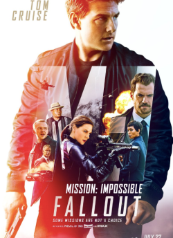 Mission Impossible: Fallout movie poster