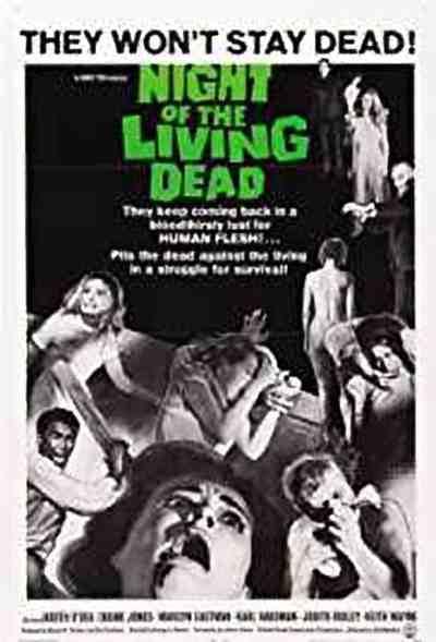 नाईट ऑफ़ दा लिविंग डेड movie poster