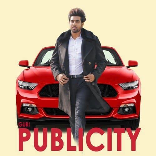 Publicity album artwork