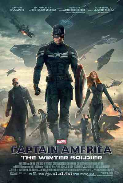 Captain America: The Winter Soldier movie poster