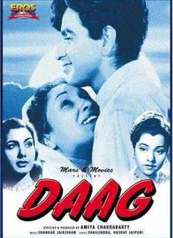 Daag movie poster