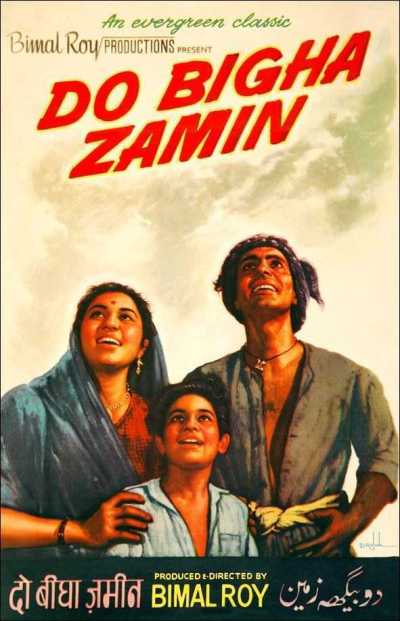 Do Bigha Zamin movie poster
