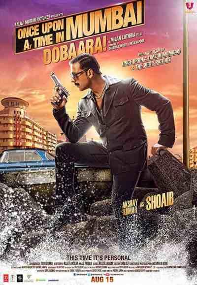Once Upon a Time in Mumbai Dobaara! movie poster
