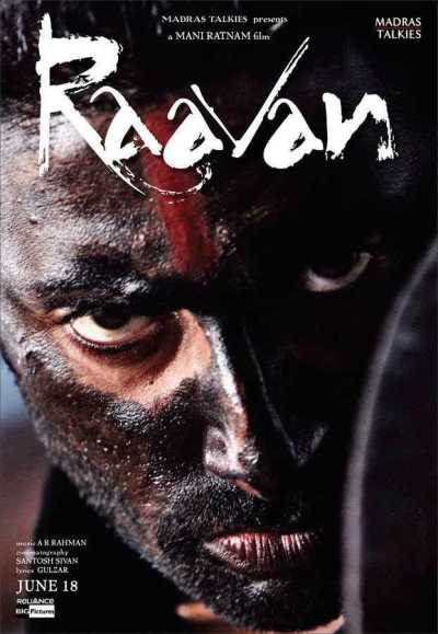 Raavan movie poster