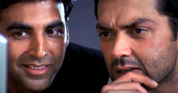 Akshay Kumar & Bobby Deol