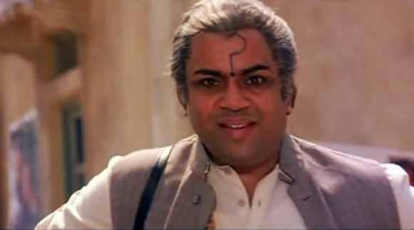 Paresh Rawal in Andaz Apna Apna