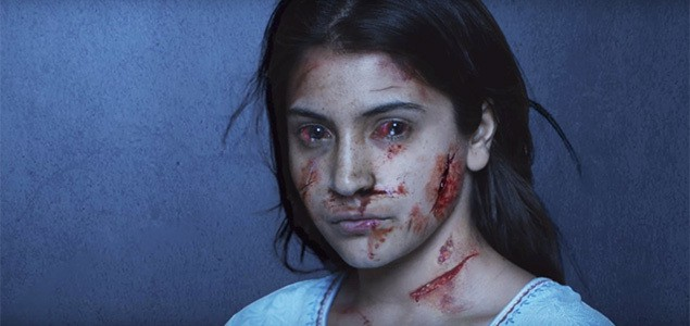 Anushka Sharma in scary look